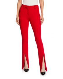 A L C  Conway Double-Slit Pants at Neiman Marcus