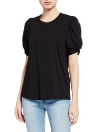 A L C  Kati Puff-Sleeve Tee at Neiman Marcus