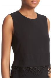 A L C  Nikos Lace Trim Top at Nordstrom