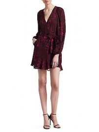 A L C  - Embry Wrap Mini Dress at Saks Fifth Avenue