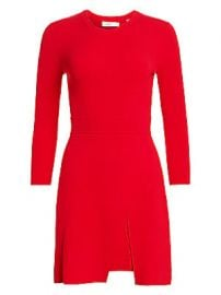 A L C  - Hadley Front Slit Knit Sheath Dress at Saks Fifth Avenue