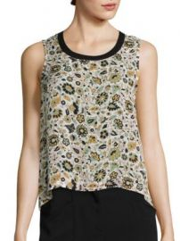 A L C  - Harper Floral Top at Saks Fifth Avenue