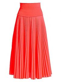 A L C  - Hedrin Pleated Midi Skirt at Saks Fifth Avenue