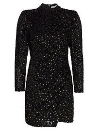 A L C  - Jane Velvet Mini Dress at Saks Fifth Avenue