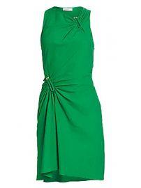 A L C  - Jina Gathered Mini Dress at Saks Fifth Avenue