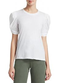 A L C  - Kati Puff-Sleeve Top at Saks Fifth Avenue