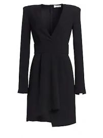 A L C  - Mara Crepe Asymmetrical Dress at Saks Fifth Avenue