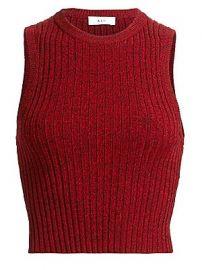 A L C  - Marie Rib-Knit Tank Top at Saks Fifth Avenue