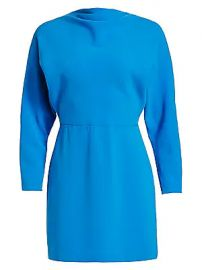 A L C  - Marin Crepe Mini Dress at Saks Fifth Avenue