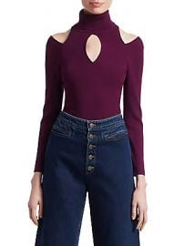 A L C  - Matera Cutout Turtleneck Sweater at Saks Fifth Avenue