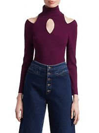 A L C  - Matera Cutout Turtleneck Sweater at Saks Off 5th
