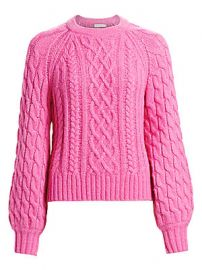 A L C  - Mick Cable Knit Sweater at Saks Fifth Avenue