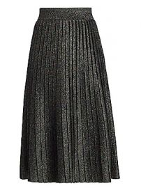 A L C  - Nevada Lurex Knit Midi Skirt at Saks Fifth Avenue