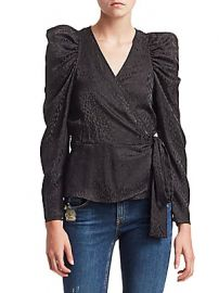 A L C  - Palermo Jacquard Blouse at Saks Fifth Avenue