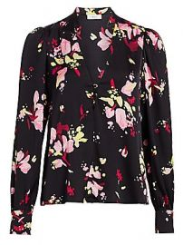 A L C  - Rivera Silk Floral Blouse at Saks Fifth Avenue