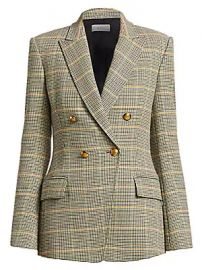 A L C  - Sedgwick Plaid Double Breasted Blazer at Saks Fifth Avenue