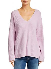 A L C  - Sierra V-Neck Rib-Knit Sweater at Saks Off 5th