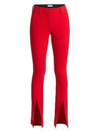 A L C  - Slim-Fit Conway Straight-Leg Front Slit Pants at Saks Fifth Avenue