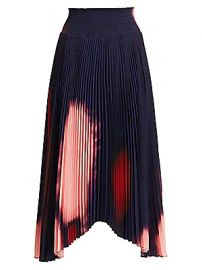 A L C  - Sonali Tie-Dye Pleated Skirt at Saks Fifth Avenue