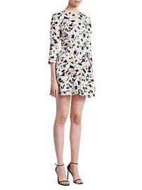 A L C  - Terry Crewneck Dress at Saks Off 5th
