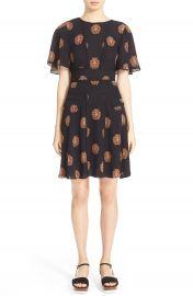 A L C   Cooper  Print Silk Dress at Nordstrom