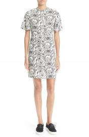 A L C   Spencer  Floral Print Silk Shift Dress at Nordstrom