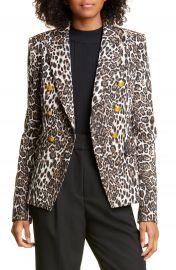 A L C  Alton Leopard Print Jacket   Nordstrom at Nordstrom