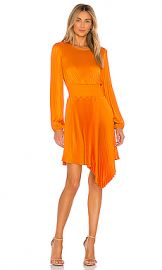 A L C  Behati Dress in Orange from Revolve com at Revolve