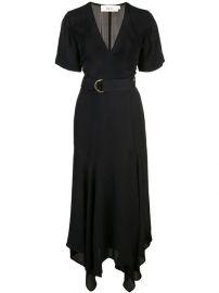A L C  Belted Midi Dress - Farfetch at Farfetch