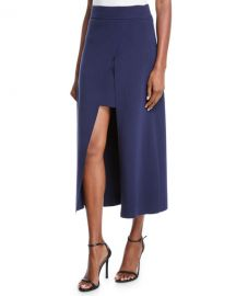 A L C  Canady Layered Cutaway Midi Skirt at Neiman Marcus