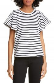 A L C  Carrie Stripe Tee   Nordstrom at Nordstrom