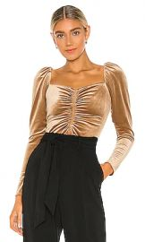 A L C  Chamberlain Top in Toffee from Revolve com at Revolve