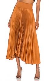 A L C  Demi Skirt in Caramel from Revolve com at Revolve