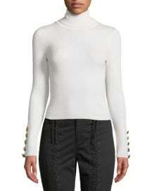 A L C  Desi Ribbed Merino Turtleneck Sweater at Neiman Marcus