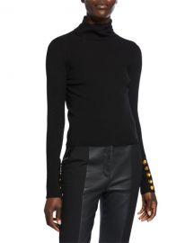 A L C  Desi Turtleneck Rib Top at Neiman Marcus