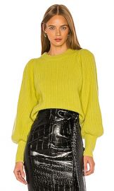 A L C  Eliana Sweater in Citron from Revolve com at Revolve