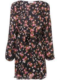 A L C  Floral Wrap Mini Dress - Farfetch at Farfetch