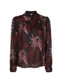 A L C  Floral long-sleeve Blouse - Farfetch at Farfetch