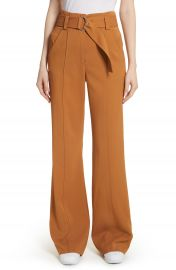 A L C  Foster Flare Leg Crepe Pants at Nordstrom