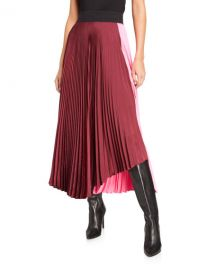 A L C  Grainger Pleated Skirt at Neiman Marcus
