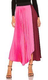 A L C  Grainger Skirt in Garnet  amp  Grapefruit from Revolve com at Revolve