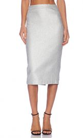 A L C  Hill Skirt in Silver from Revolve com at Revolve