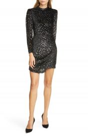 A L C  Jane Devor   Long Sleeve Minidress   Nordstrom at Nordstrom