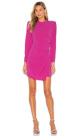 A L C  Jane Dress in Shocking Pink from Revolve com at Revolve