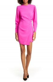 A L C  Jane Long Leg of Mutton Sleeve Minidress   Nordstrom at Nordstrom