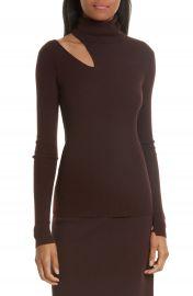 A L C  Kara Merino Wool Blend Cutout Sweater at Nordstrom