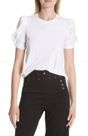 A L C  Kati Twist Sleeve Tee at Nordstrom