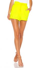 A L C  Kerry Short in Neon Yellow from Revolve com at Revolve