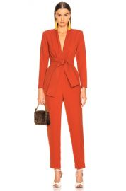 A L C  Kieran Jumpsuit in Terracotta   FWRD at Forward