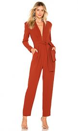 A L C  Kieran Jumpsuit in Terracotta from Revolve com at Revolve